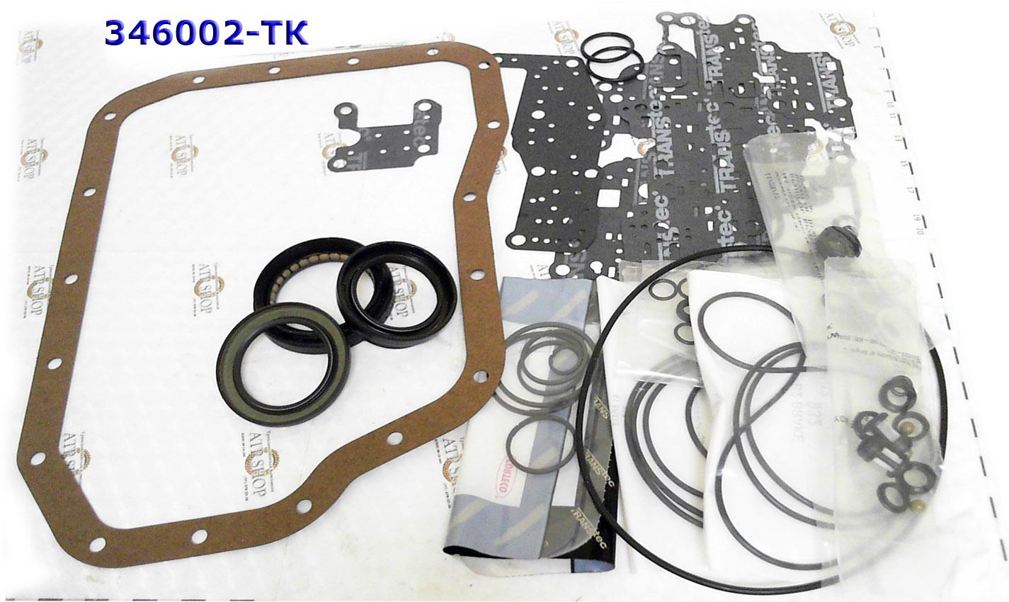 Транстек Комплект Прокладок и Сальников (Ремкомплект) (Оверол кит), Overhaul Kit, U660 Camry, Lexus ES 2007-On