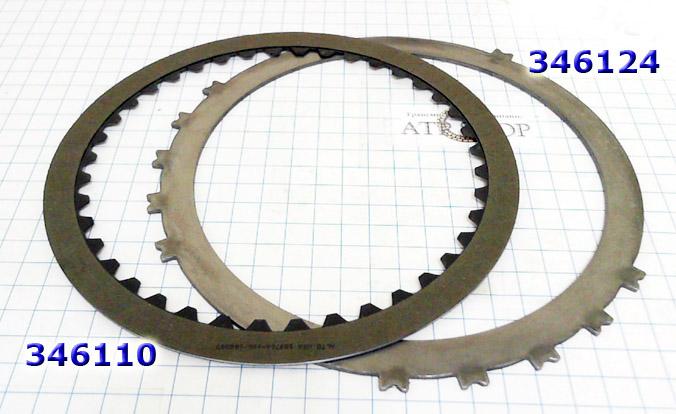 Фрикционный и стальной Диск, U660E B1/B3 (передачи 2 и 6)