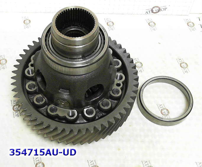 Дифференциал, Differential, TF80-SC/TF81-SC, MAZDA AWD(16 Bolt) 2005-Up,