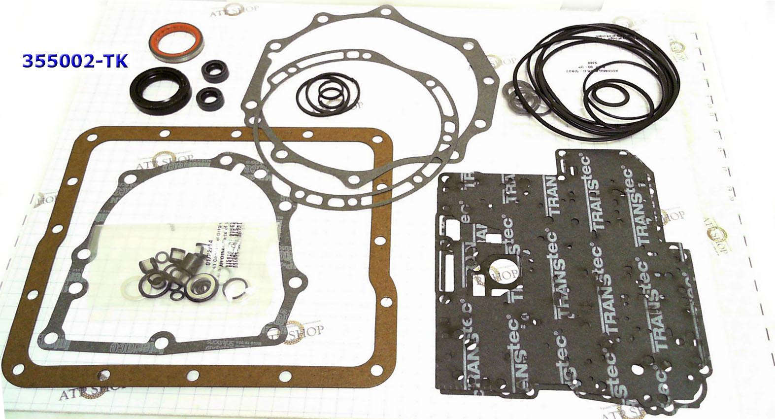 Ремкомплект прокладок и сальников А174 TW-40