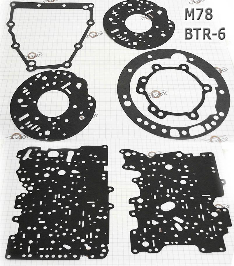 комплект прокладок М78