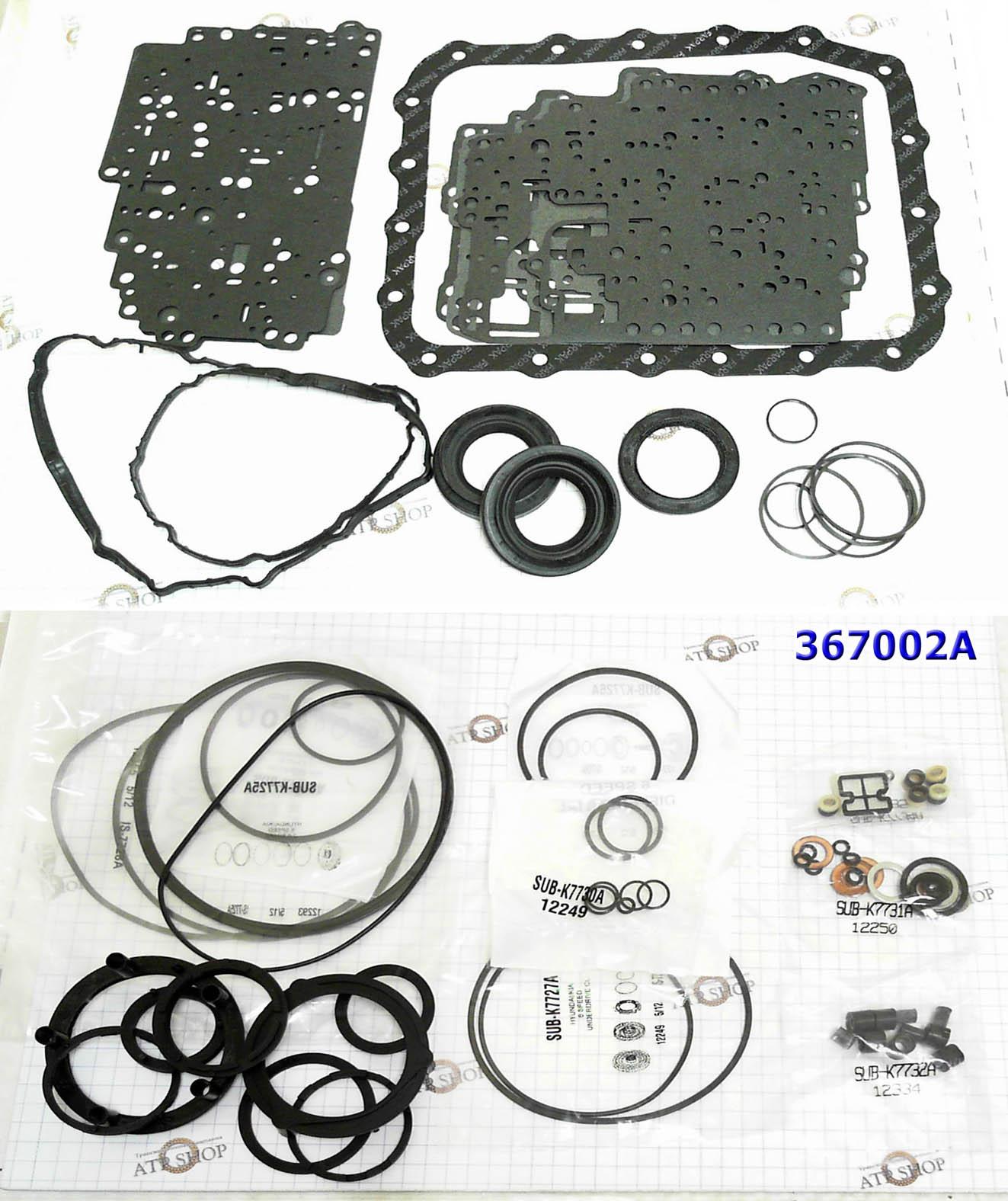 Ремонтный комплект прокладок и сальников для A6MF1/2