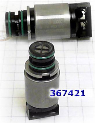 Соленоид переключающий с чёрным разъемом(общая длина 56.5мм), Solenoid A6LF1/ A6LF2/ A6MF1/ A6MF2/ A6MF3/ A6GF1/ A6GF2 BTR DSI-6 M11 SsangYong/ Hyundai SHIFT SSA/SSB (46313-3B030)