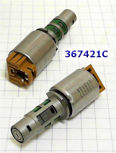 Соленоид переключающий с коричневым разъемом(общая длина 79мм), Solenoid A6LF1/A6LF2/A6GF1 TCC/2/6 Brake