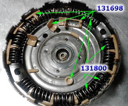 корзина сцепления DCT450