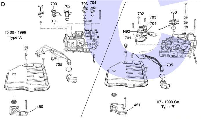гидроблок JF404E