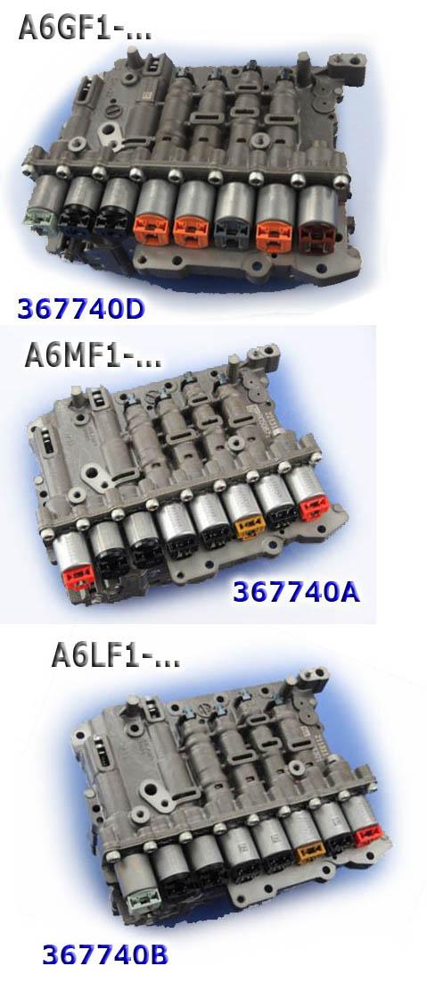 Блок клапанов в сборе с соленоидами, Valve body A6LF1/A6LF2 OEM
