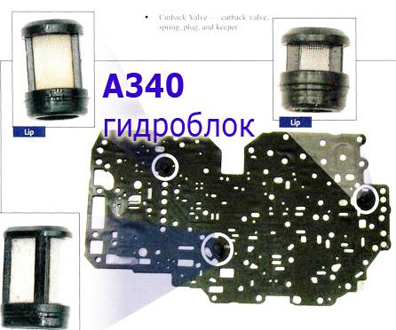 Расходники для гидроблока А340