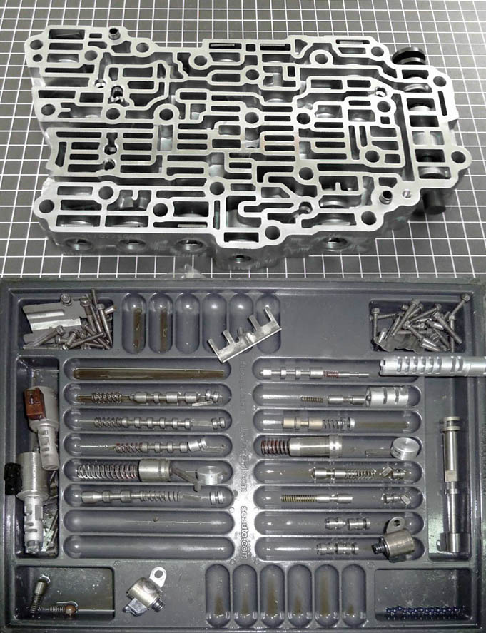 ремонт гидроблока