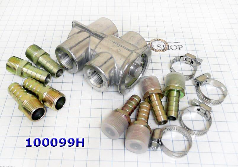 "Термостат для доп. радиатора АКПП (Oil Thermostat)  ""Хайден-163"" №100099H"